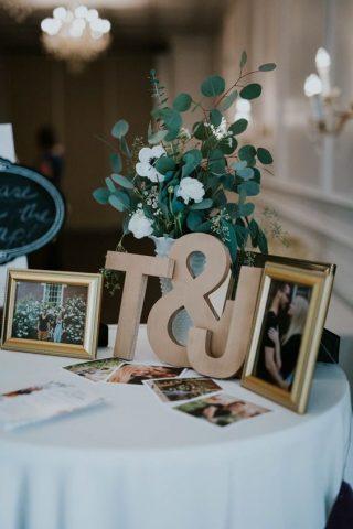 Ramka ze zdjęciem dla gości weselnych