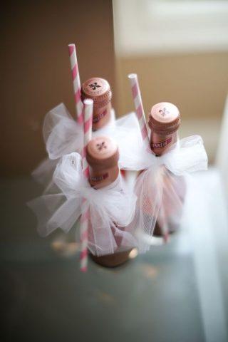 mini szampan prezent dla gości weselnych