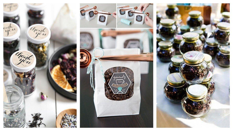 Herbaty i kawy dla gości weselnych