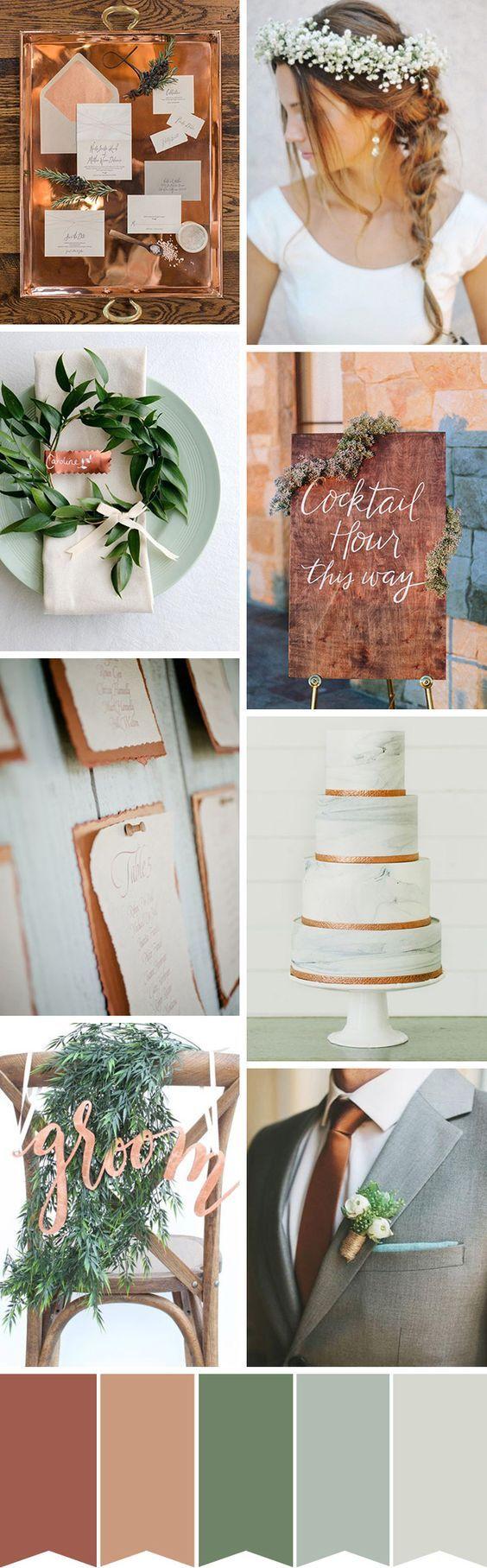 Zaproszenia ślubne a kolor przewodni wesela