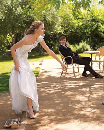 zabawy weselne w plenerze bule