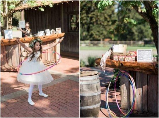 zabawy weselne w plenerze hula hoop