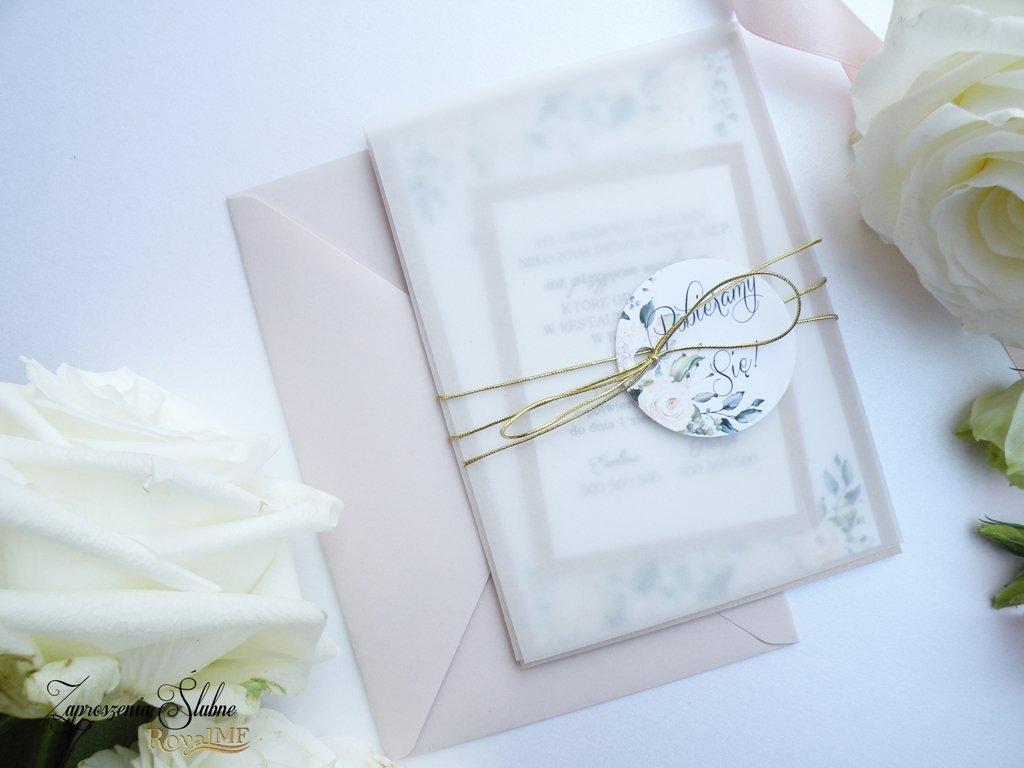 przezroczyste zaproszenia ślubne 2020