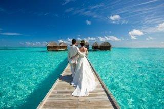 Podróż poślubna w stylu gwiazd