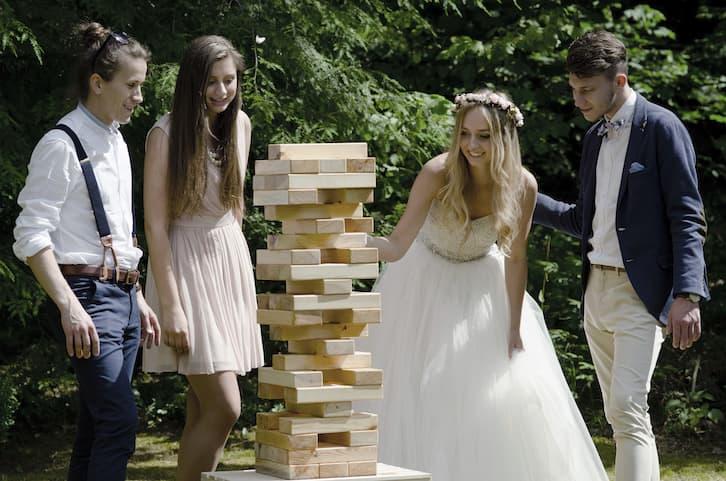 gry plenerowe atrakcje na wesele