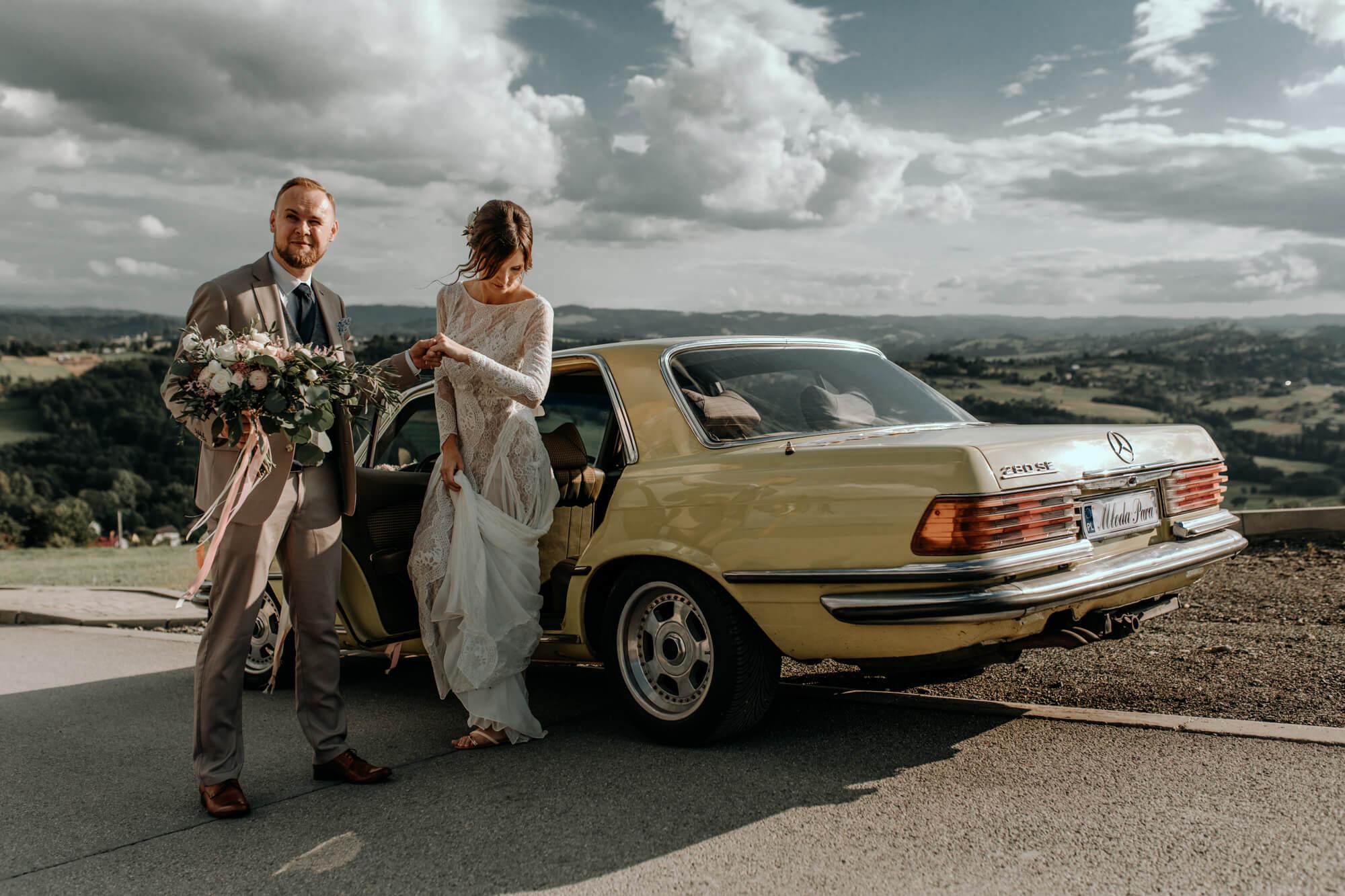 Marta i Łukasz - wesele w Beskidach