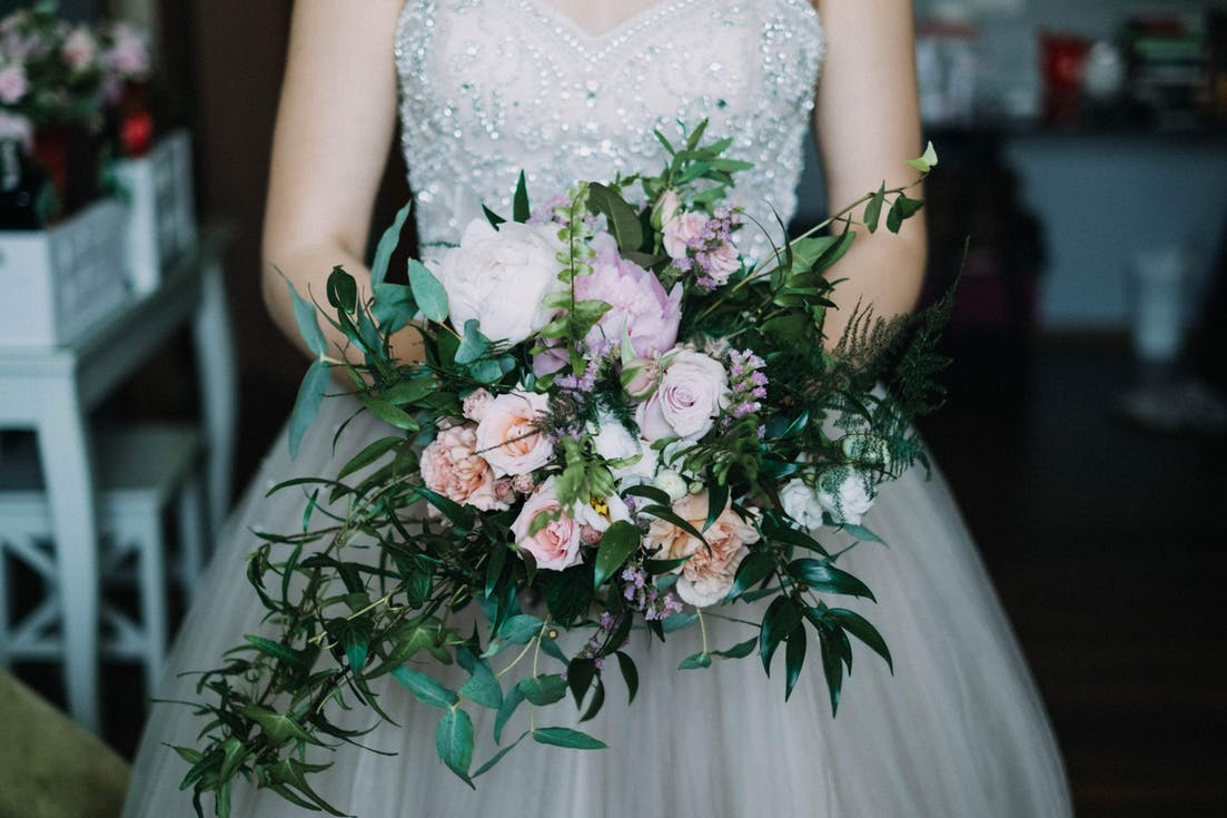wiązanki ślubne dla panny młodej plus size