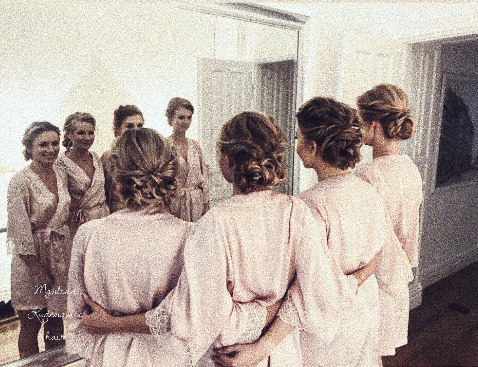 fryzury na wesele dla świadkowej i druhny