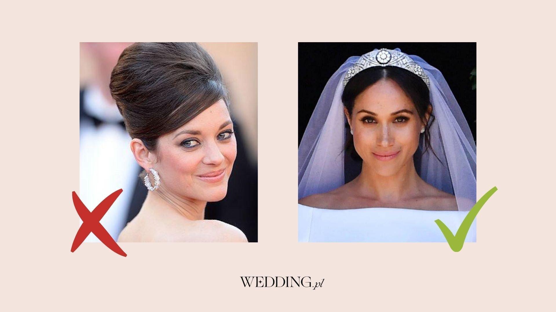 fryzury na wesele - gwiazdy