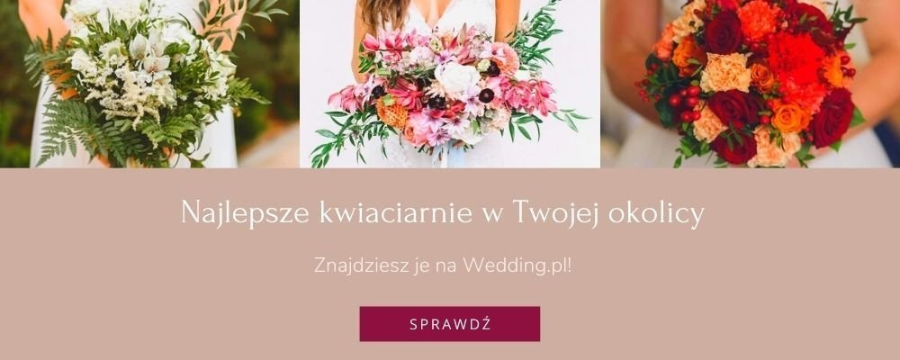 najlepsze kwiaciarnie bukiety ślubne