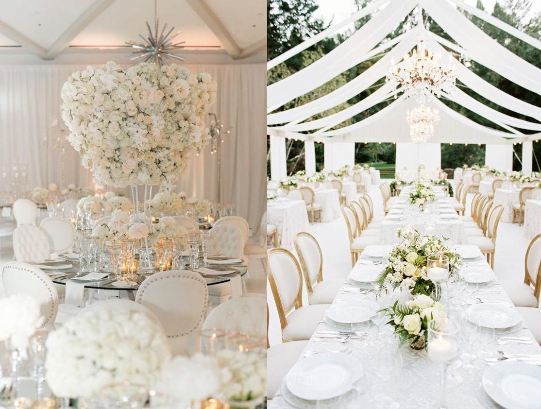 Biel jako motyw przewodni wesela - zdjęcie 6