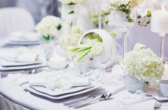 Biel jako motyw przewodni wesela - zdjęcie 9