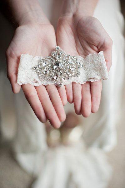 Bielizna ślubna 2019 - podwiązka - zdjęcie 4