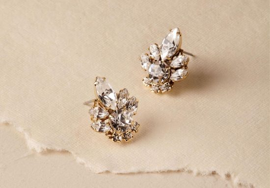 Biżuteria ślubna do sukni bez dekoltu - zdjęcie 10