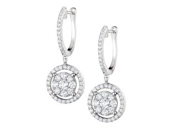 Biżuteria ślubna w stylu Kate Middleton - kolczyki