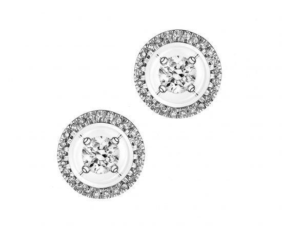 Biżuteria ślubna w stylu Meghan Markle - kolczyki