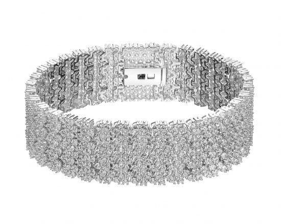 Biżuteria ślubna w stylu Ivanki Trump - bransoletka