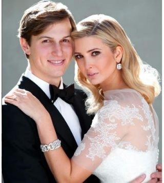 Biżuteria ślubna Ivanki Trump