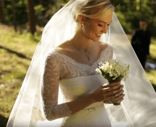 Biżuteria ślubna w stylu Karlie Kloss
