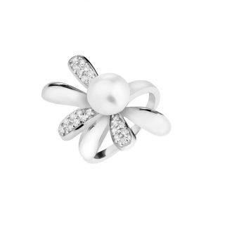Pierścionek w kształcie kwiatu Apart