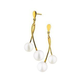 Kolczyki z dwoma perłami Apart