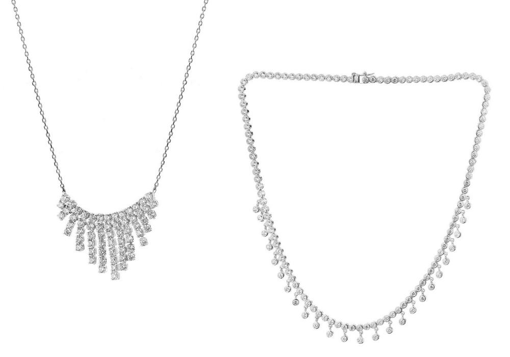 Biżuteria w stylu glamour - naszyjnik