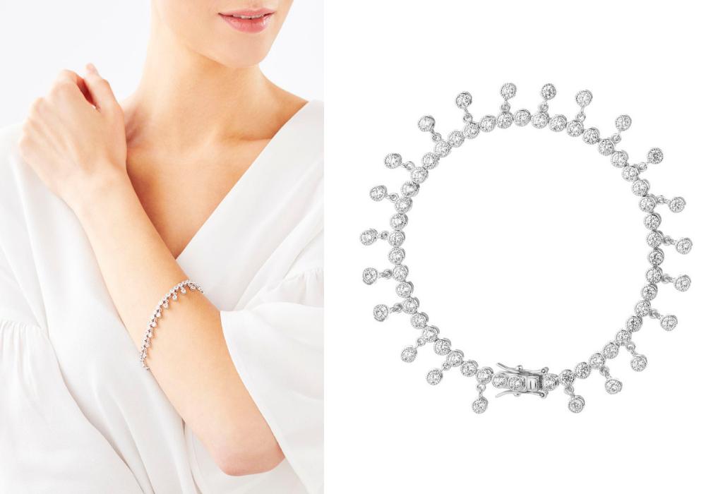 Biżuteria w stylu glamour - bransoletka