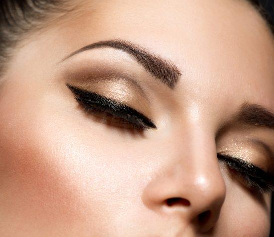 Brązowy makijaż ślubny - zdjęcie 20