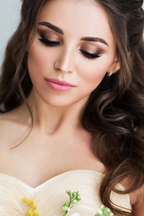 Brązowy Makijaż ślubny Wedding Pl Poleca I Inspiruje