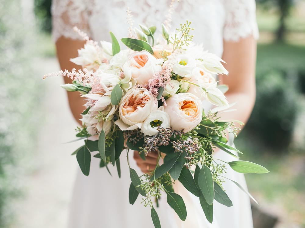 bukiet ślubny na wesele w lipcu - zdjęcie 2