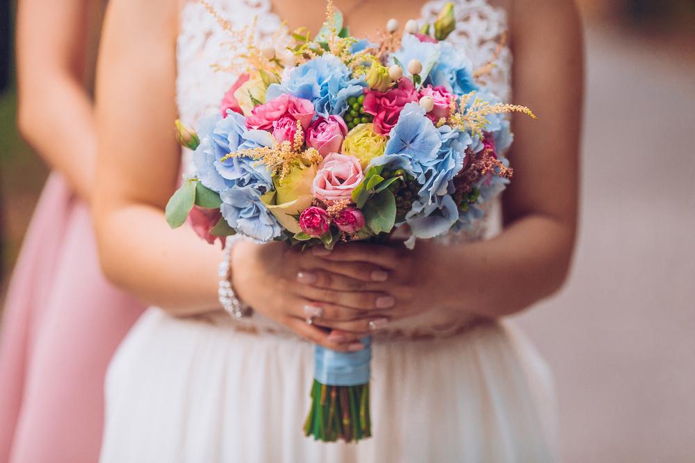 bukiet ślubny na wesele w lipcu - zdjęcie 4