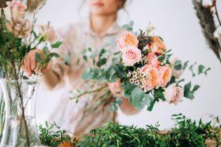 bukiet ślubny na wesele w lipcu - zdjecie 3