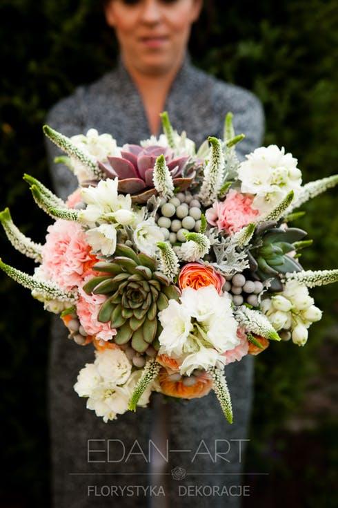 Tropikalny kwiaty na ślub