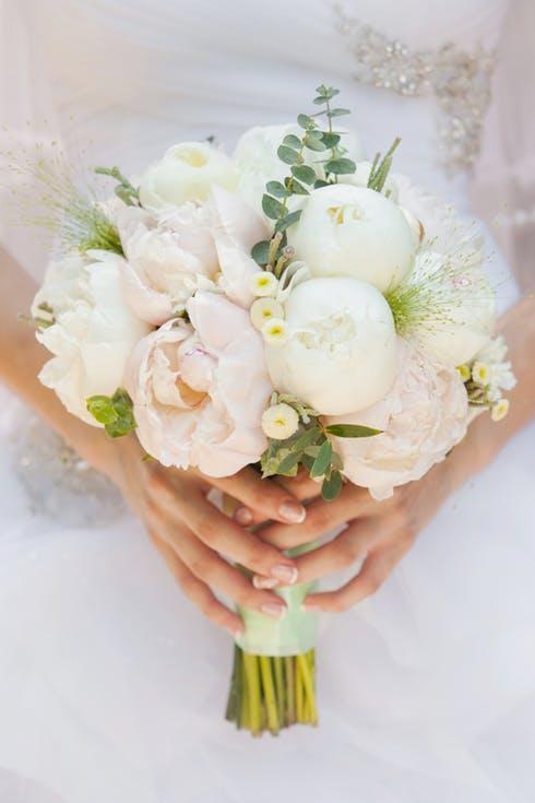 Peonie na ślub