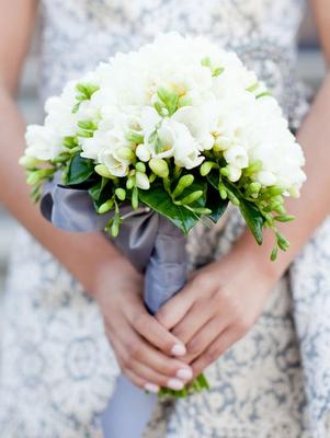 Bukiety ślubne z frezji