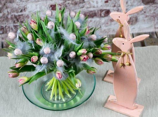bukiety ślubne na Wielkanoc