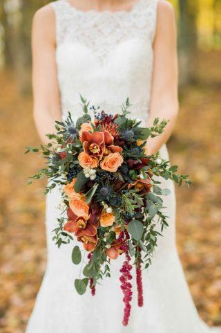 Bukiety ślubne w stylu rustykalnym - zdjęcie 1
