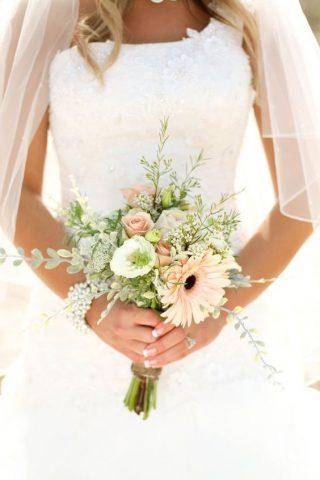 Bukiety ślubne w stylu rustykalnym - zdjęcie 6