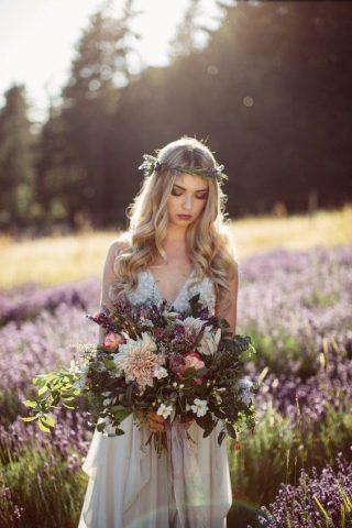 Bukiety ślubne w stylu rustykalnym - zdjęcie 8