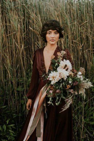 Bukiety ślubne w stylu rustykalnym - zdjęcie 7