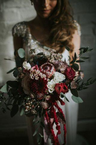 Bukiety ślubne w stylu rustykalnym - zdjęcie 9