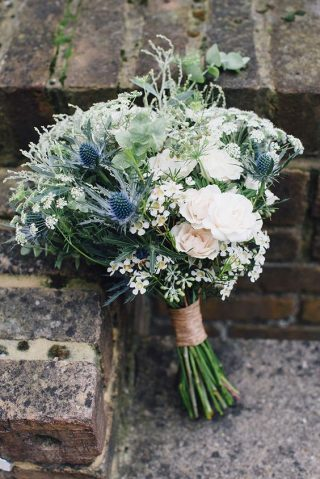 Bukiety ślubne w stylu rustykalnym - zdjęcie 11