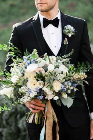 Bukiety ślubne w stylu rustykalnym - zdjęcie 14