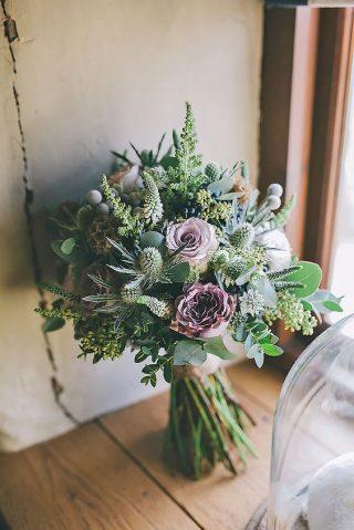 Bukiety ślubne w stylu rustykalnym - zdjęcie 16