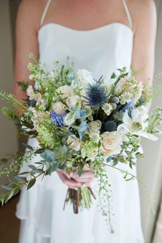 Bukiety ślubne w stylu rustykalnym - zdjęcie 19