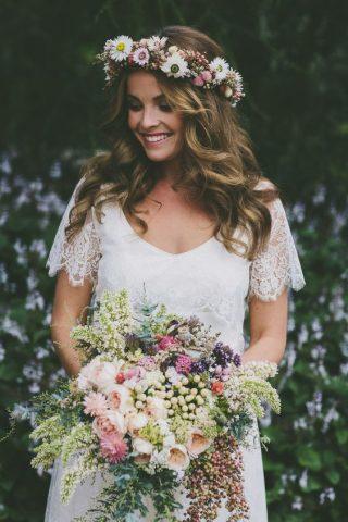 Bukiety ślubne w stylu rustykalnym - zdjęcie 3