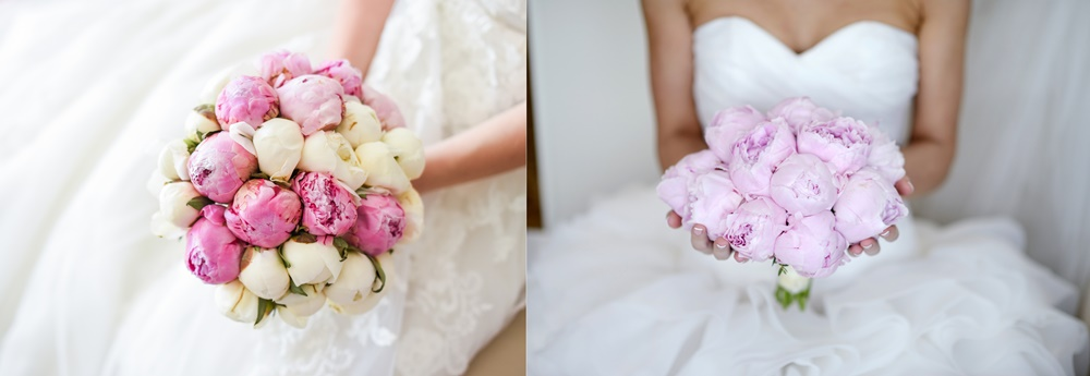 Bukiety ślubne w stylu glamour