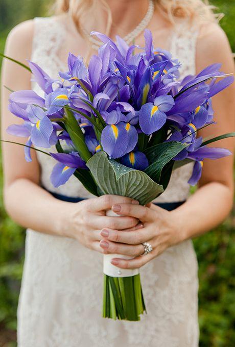 Bukiety ślubne z irysami - zdjęcie 3