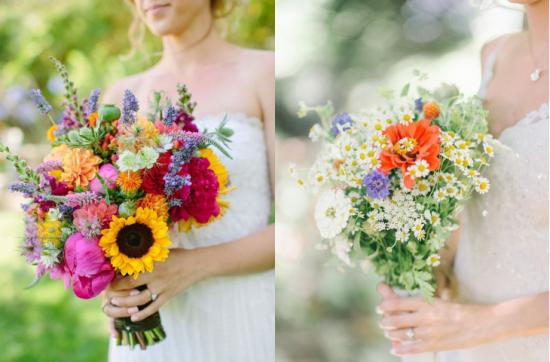 bukiety z polnych kwiatów -zdjęcie 51