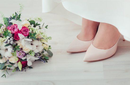 Buty ślubne w kolorze ivory - zdjęcie 11